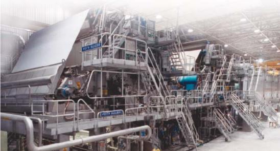 Voith Sulzer Paper Mill 1200mpm